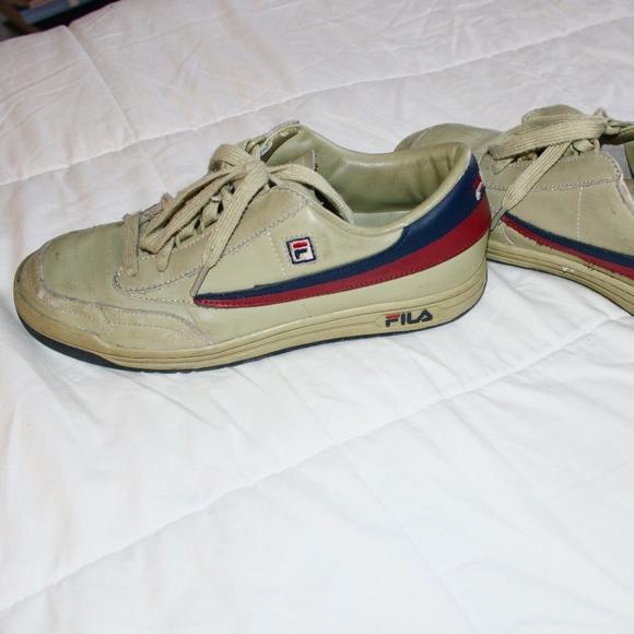 Fila Vintage Leather Tennis Shoes